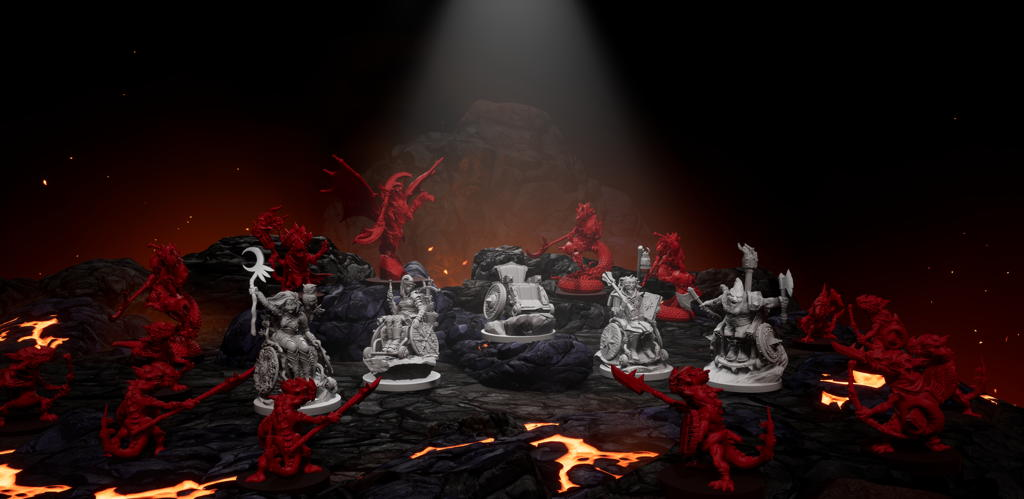 strata miniatures dungeons and diversities