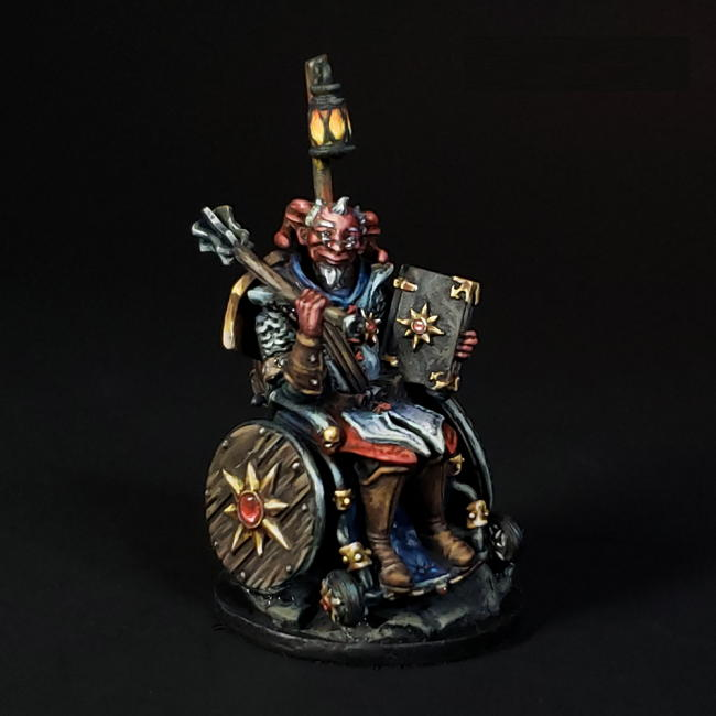Strata Miniatures Rolstoel Duivel