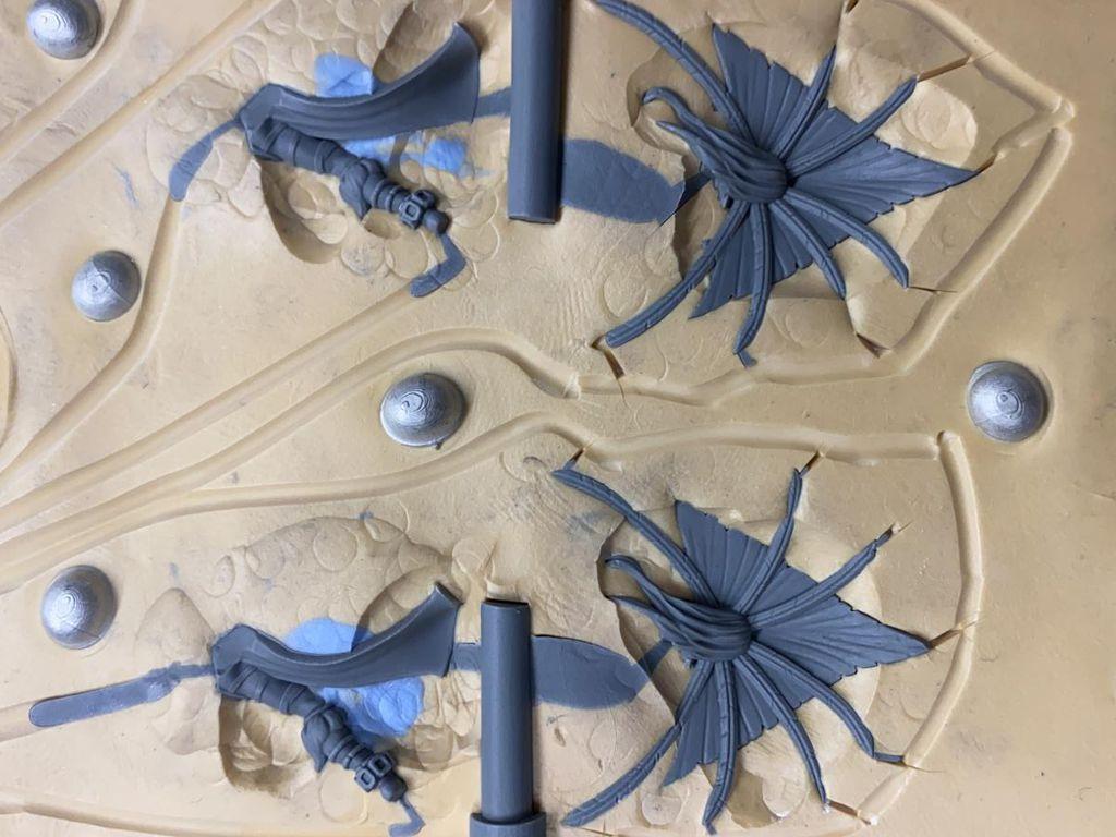 Daedalus, Miniature, Mal, Mold, Fantasy Figure, De Tinnen Roos