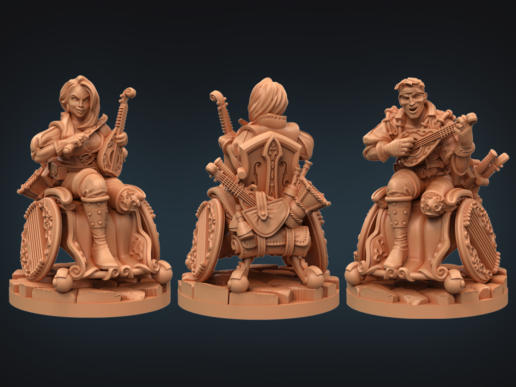 Strata Miniatures,, Dungeons And Diversity, Miniatures, Table Top Game, 3d Design