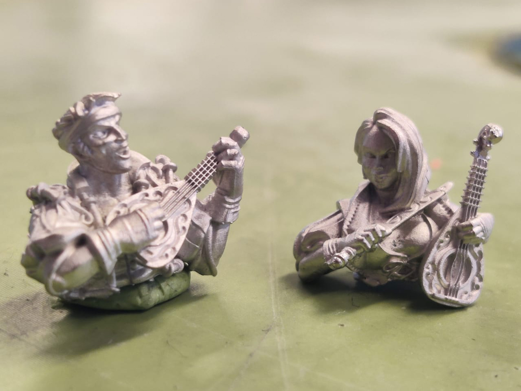 Strata Miniatures, Pewter, Dungeons And Diversity, Miniatures, Table Top Game