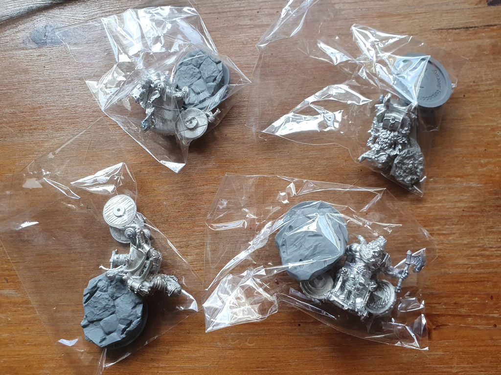 Strata Miniatures, Complete Set, Dungeons And Diversity, Miniatures, Table Top Game