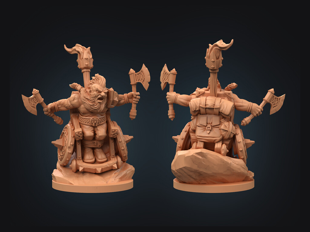 Strata Miniatures, Bismuth, 3d Design, Dungeons And Diversity, Miniatures, Table Top Game